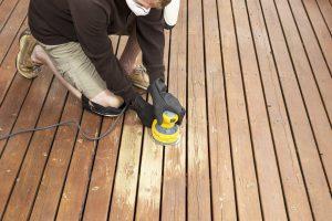Wooden Deck repair